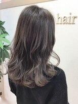 アドゥーヘアー(A do hair)natural lob × gray
