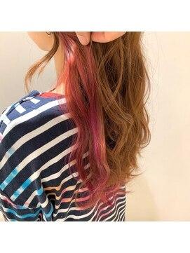 ネオヘアー 曳舟店(NEO Hair)おしゃれインナーカラー【東武曳舟】