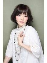 【Source】モテ髪☆愛され艶フワボブ♪