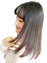 ショコラウメダ(Chocolat UMEDA)ワイドバンク★とろみ艶髪エレガントロング#ショコラ梅田