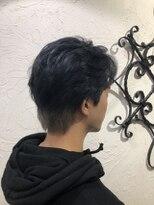 ローグヘアー 綾瀬店(Rogue HAIR)ダークブルーカラー《Rogue柴崎》