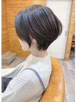 トゥーナ 表参道(tona)20代30代40代50代60代ショートパーマ黒髪小顔ボブルフ