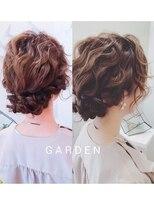 ガーデンヘアー(Garden hair)[GARDEN松岡]結婚式で1番可愛い波巻きアレンジ♪