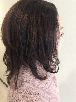 ティーズ ヘアー(T's HAIR)の写真/【地下鉄白石駅徒歩3分】敏感肌の方にもオススメ◎ダメージを最小限におさえながら理想の手触り・発色を☆