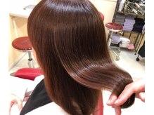 エクリュ(ecru by marl)の雰囲気(すべての薬剤に髪の美容液を配合し、髪質改善をしていきます。)
