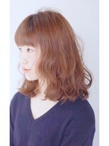 エトネ ヘアーサロン 仙台駅前(eTONe hair salon)【eTONe】ミディアム×ウェーブ×低温デジタルパーマ