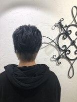 ローグヘアー 綾瀬店(Rogue HAIR)ダークブルーカラー《Rogue 柴崎》
