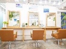 ヘアーリビング リコ 池袋西口店(hair living Liko)の雰囲気(【2020年OPEN2周年☆】経験豊富なsSylist多数在籍。海風薫る店内)