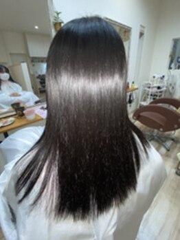 ラヴィヘアスペース(La Vie hair space)の写真/クセ・うねりの改善を諦めていた方に―。髪質改善を追求するLa Vieの『高難易度縮毛矯正』をお試し下さい!