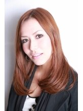 美容室 アンジェ(Angelo)毛先のふんわりカールで、優しい女性らしさアップのスタイル