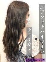 ビューティーアンドキュア ウルル(beauty&cure ULURU)外国人風カラー+エアタッチハイライト