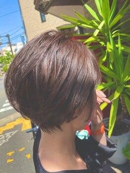 ヴァンガード(Vanguard)の写真/大人女性の【ショート&ボブ】が得意♪まとまりが良く扱いやすい髪で、ストレスフリーに♪