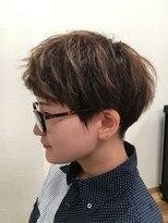 刈り上げ女子☆