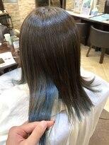 キャラ 池袋本店(CHARA)ブリーチしてても髪質改善!サラ艶インナーカラー【キャラ池袋】