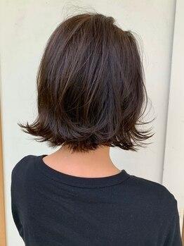 """ラ ソール ヘア(La sol HAIR)の写真/自然植物由来""""エッセンシティカラー""""頭皮、毛髪への負担を抑えつつ、暖色系~寒色系まで多彩な髪色が可能◎"""