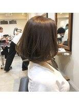 ウル(HOULe)大人女子に人気!ミディアムボブ☆【髪質改善】【大人かわいい】