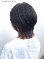 フローレス バイ ヘッドライト 三鷹店(hair flores by HEADLIGHT)ナチュラルウルフ×インナーカラー グレイッシュラベンダー
