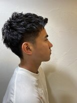 ネオヘアー 東向島店(NEO Hair)ツーブロックモヒカンパーマスタイル