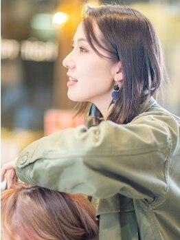 ヘアリライアンスウナ(hair reliance Una)の写真/【札幌/大通駅】落ち着いた雰囲気が自慢のマンツーマンsalon【Una】自分だけのゆったりとした贅沢な時間を