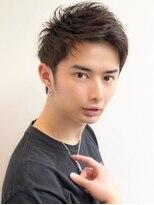 《Agu hair》爽やかアップバングショート