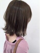 マージュ ギンザ(marju GINZA)冬髪☆ラベンダーショコラ×ノーブルシースルーロブ
