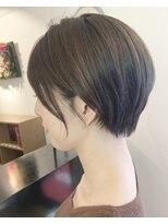 ヘアーワーク オーパス(HAIR WORK OPUS)コンパクトにすっきり小顔ショート《杉田 あかり》