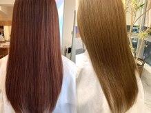 【完全オーダーメイドの髪質改善】4種類の髪質改善とCuraのこだわり!