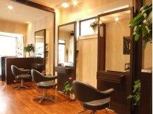 ヘアーデザイン オルオル(Hair Design OLU OLU)の雰囲気(セット面3席のゆったりとした空間です☆)