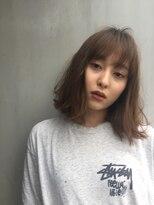 バロン 新宿店(baLon.)Tシャツの似合うレングスのボブ
