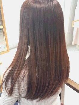 """オレンジエール(Orange Ailes)の写真/5種類の薬剤を使い分ける縮毛矯正★とにかく髪を大切に♪実力派Stylistがあなたの""""なりたい""""を叶えます!!"""