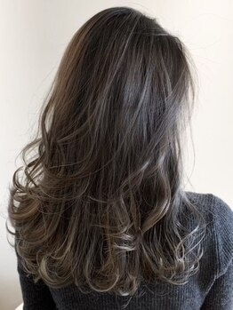 ラ ソール ヘア(La sol HAIR)の写真/好きなカラーもツヤも手に入る【CARE〈ケア〉カラー】なりたい髪色にトレンド感をプラスしたスタイルに★