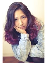 ヘアー メイク スタジオ ライフ(HAIR MAKE STUDIO LIFE)パンキッシュパープル