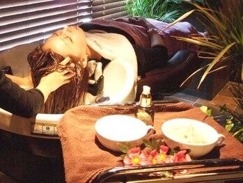 フレイス 町田(Frais)の写真/【ディプロマ取得の本格スパ+Cut¥4980】本場バリの技術・資格を取得したSPAニストが行う極上のヘッドSPA*