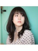 【orange cracker】大人小顔デジタルパーマ☆ひし形ロブ 久米川