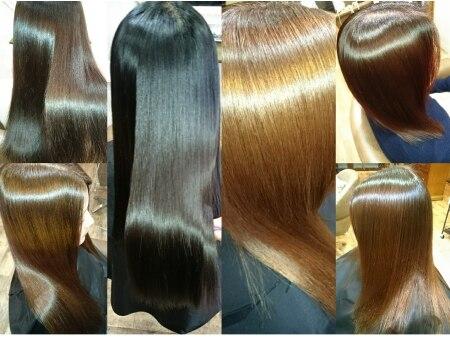 オールジーヘアー(Ooljee hair)の雰囲気(当店の一番人気…乾かすだけでこの艶!エンパニの美髪縮毛矯正♪)