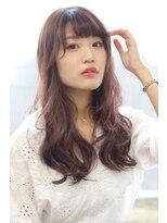 ヘアリゾート バレンタイン(hair+resort valentine)透明感☆ピンクモーブカラー