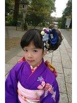 ヘアーアンドメイクサロン ハナココ(hair&make salon hana Coco)7歳♪七五三