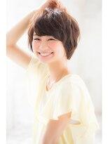 ジョエミバイアンアミ(joemi by Un ami)【joemi】斜めバング×ふわくしゅショートボブ 大島幸司