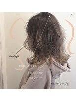 スーベニール(souvenir)■白髪対応■暗くしない明るめミルクティーベージュ3Dカラー