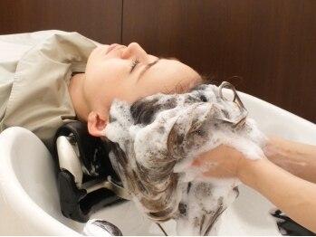 ミューズアヴェダ(MUSE AVEDA)の写真/【AVEDAボタニカルスカルプスパエクスプレス】じっくり10分のマッサージ付で髪のハリコシUP&頭皮ケア!