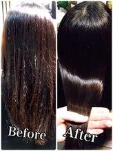 デュークケア(Duku care)カット+縮毛矯正+素髪ヘアエステ