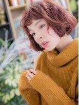 *+COVER HAIR+*…アシンメトリー★ふわふわ小顔ボブct