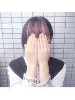 【ReiZ渋谷 森勇気】前髪インナーカラーホイルカラーバター