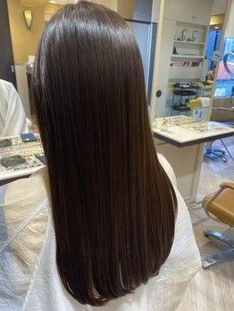 ゼンコー キチジョウジ(ZENKO KICHIJOJI)の写真/≪吉祥寺駅1分≫縮毛矯正で髪質改善!高度な技術とこだわりの薬剤で、扱いやすいサラ艶ストレートヘアに◎
