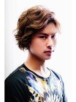 ミンクス ハラジュク(MINX harajuku)MEN'S HAIR ニュアンスパーマショート 三代目登坂広臣白濱亜嵐風