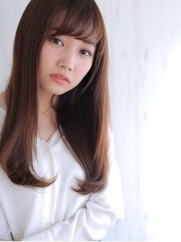 アグ ヘアー フェイズ 十和田市店(Agu hair phase)の写真/柔らかさや毛先の動きまで自在に表現!「上質ストレート」縮毛矯正で理想のフォルムへ◎