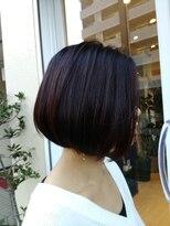ソラ ヘアデザイン(Sora hair design)シンプルボブ