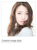 ヴェローグ シェ ブー(belog chez vous hair luxe)【Creative image styel】ナチュラルな ピンクメイク