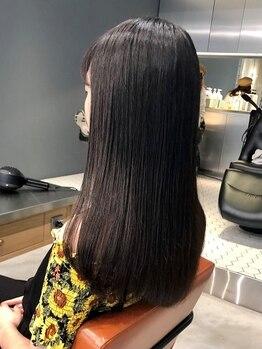 ロージー(ROSIE)の写真/1つ1つの工程に手間をかけ、毛髪強度を高めて髪本来の魅力を引き出す。大人気のTOKIOトリートメント導入!