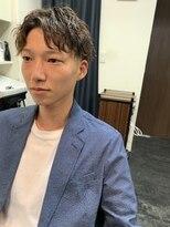 ジョイ ボックス 新大阪店(JOY BOX)フェード×ツイストパーマ